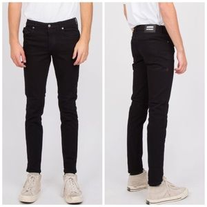 3/$20🌼NWT Dr Denim Unisex Snap Jeans Black